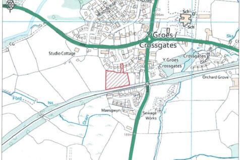 Badgers Green, Crossgates, Llandrindod Wells. Plot for sale