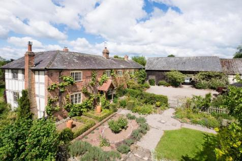 Pembridge, Herefordshire - with 14 acres + cottage. 5 bedroom detached house