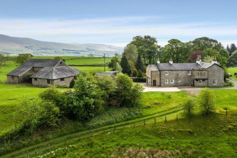 Harprigg Hall Farm, Killington, Kirkby Lonsdale, LA6 2EX. 5 bedroom farm house for sale