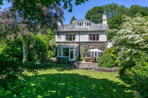 Ashdown House, Windermere, Lake District, Cumbria LA23 2DB. 5 bedroom detached house for sale