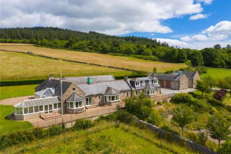 Mains Of Tilliefoure, Monymusk, Inverurie, Aberdeenshire, AB51. 7 bedroom detached house for sale