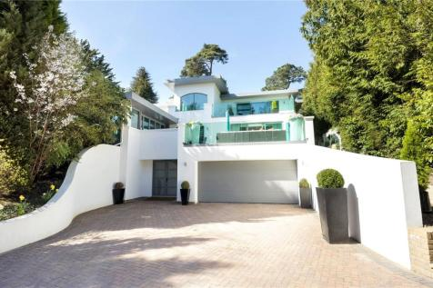 Western Road, Branksome Park, Poole, Dorset, BH13. 5 bedroom detached house for sale