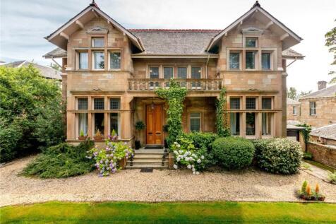 Harviestoun, 23 Leslie Road, Pollokshields, G41. 6 bedroom detached house for sale