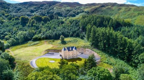 The Tower House Lot 1, Glenmore, Kilmelford, Oban, PA34. 5 bedroom detached house
