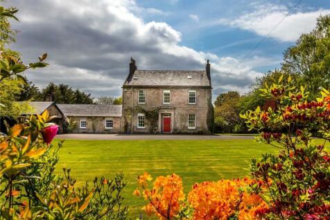Glebe House, 18 Kirkbrae, Kirkoswald, Maybole, KA19. 7 bedroom detached house for sale