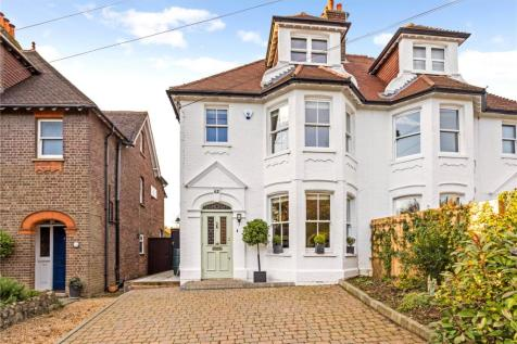 Station Road, Harpenden, AL5. 5 bedroom semi-detached house for sale