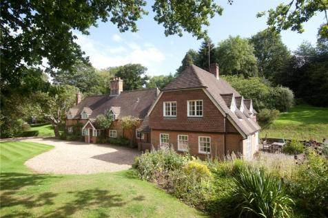 Rockstead Farm, Rockbourne, Fordingbridge, Hampshire, SP6. 5 bedroom detached house