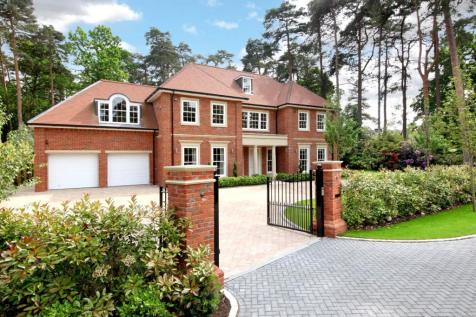 3 The Glade, Ascot, Berkshire, SL5. 5 bedroom detached house for sale