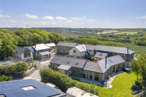 Churchtown, Cury, Helston, Cornwall, TR12. 18 bedroom detached house