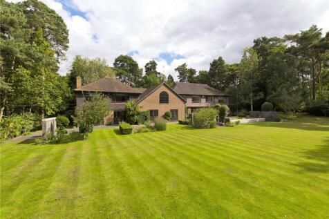West Road, St George's Hill, Weybridge, Surrey, KT13. 6 bedroom detached house for sale