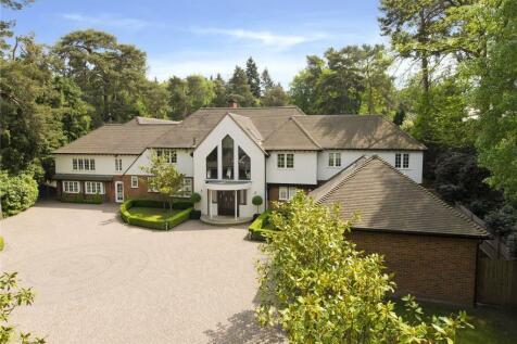 West Road, St. George's Hill, Weybridge, Surrey, KT13. 5 bedroom detached house for sale
