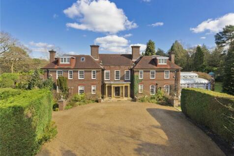 South Ridge, St Georges Hill, Weybridge, Surrey, KT13. 6 bedroom detached house for sale