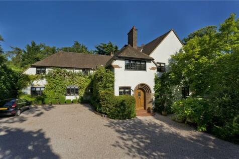 Cavendish Road, St George's Hill, Weybridge, Surrey, KT13. 6 bedroom detached house for sale