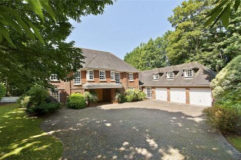 Bowater Ridge, St. Georges Hill, Weybridge, Surrey, KT13. 5 bedroom detached house for sale