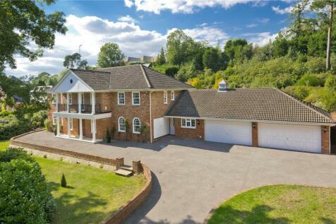 Camp End Road, St George's Hill, Weybridge, Surrey, KT13. 6 bedroom detached house for sale