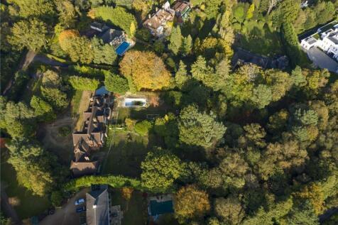 East Road, St George's Hill, Weybridge, Surrey, KT13. Plot for sale