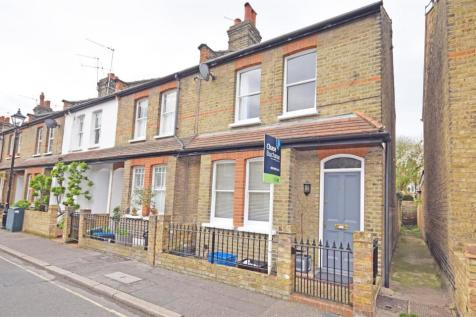 Sherland Road, Twickenham. 2 bedroom end of terrace house