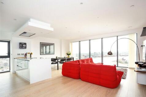 Horizons Tower, 1 Yabsley Street, Canary Wharf, London, E14. 2 bedroom apartment