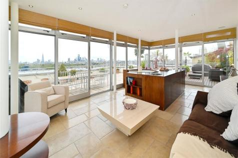 Pierpoint Building, 16 Westferry Road, Canary Wharf, London, E14. 2 bedroom penthouse for sale