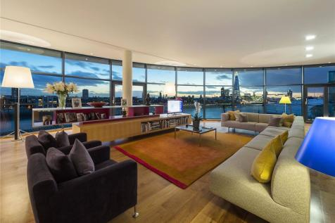Cinnabar Wharf East, 28 Wapping High Street, London, E1W. 3 bedroom penthouse for sale