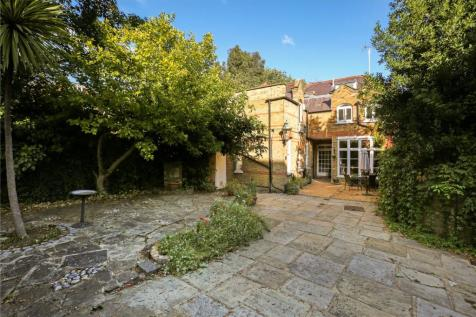 Greencroft Gardens, West Hampstead, London, NW6. 4 bedroom detached house for sale