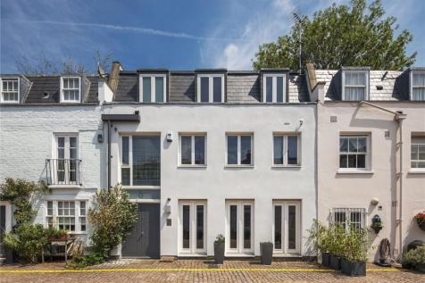 Napier Place, Holland Park, London, W14. 3 bedroom mews house