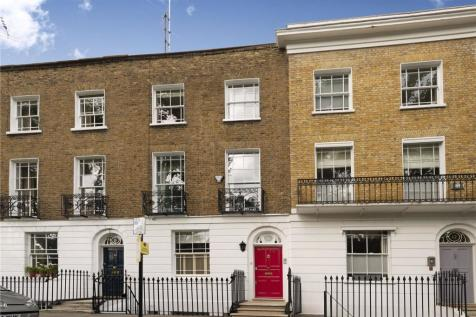 Pembroke Square, London, W8. 4 bedroom terraced house for sale