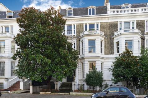 Upper Phillimore Gardens, London, W8. 6 bedroom semi-detached house for sale