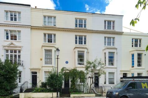 Gloucester Walk, London, W8. 5 bedroom terraced house for sale