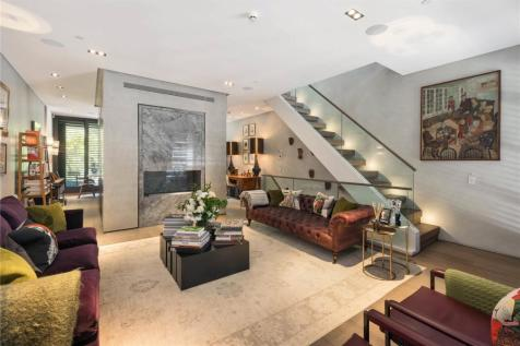 Pond Place, London, SW3. 4 bedroom terraced house