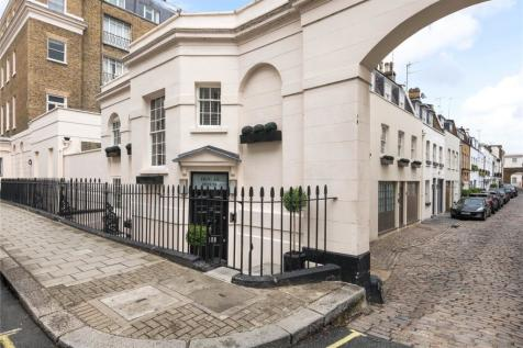 South Eaton Place, London, SW1W. 4 bedroom mews house for sale