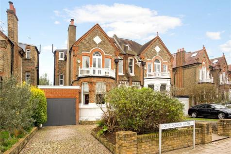 Lower Common South, Putney, London, SW15. 5 bedroom semi-detached house for sale