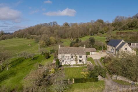 Upper Kilcott, Hillesley, Wotton-Under-Edge, Gloucestershire, GL12. 6 bedroom detached house for sale