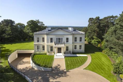 Tor Lane, St George's Hill, Weybridge, Surrey, KT13. 5 bedroom detached house