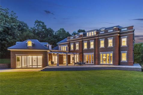 Pipers End, Virginia Water, Surrey, GU25. 6 bedroom detached house for sale