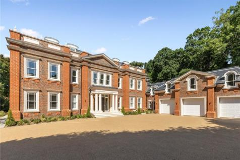 Pipers End, Virginia Water, Surrey, GU25. 6 bedroom detached house