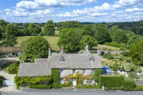 Quenington House, Quenington, Cirencester, Gloucestershire, GL7. 4 bedroom detached house for sale