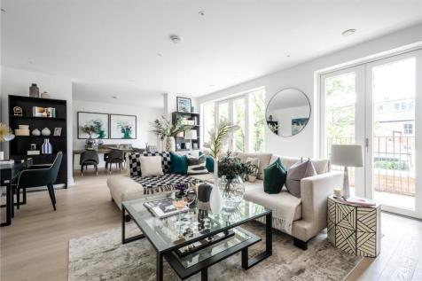Oakley Gardens, Church Walk, Hampstead, London, NW2. 3 bedroom duplex for sale