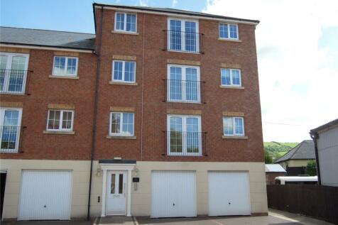 Afon Way, Canal Road, Newtown, Powys, SY16. 2 bedroom flat