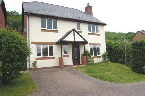 Rockwood Drive, Llanllwchaiarn, Newtown, Powys, SY16. 4 bedroom detached house