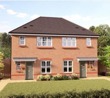 RENT TO OWN - 21 Llys Ffyddion, Dyserth - Plot 38. 3 bedroom house