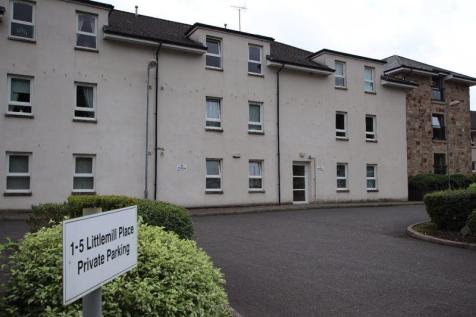 Littlemill Place, Bowling. 2 bedroom flat for sale