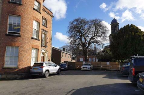 Claremont House, Shrewsbury, Shropshire. Parking