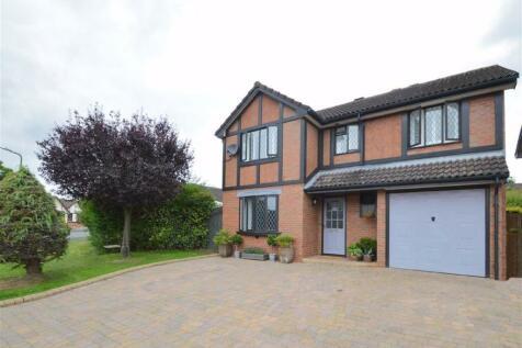 Millers Green, Castlefields, Shrewsbury. 4 bedroom detached house