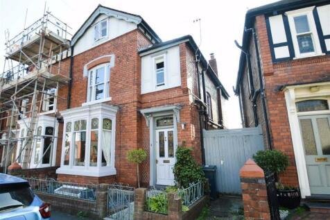 Coton Crescent, Coton Hill, Shrewsbury. 4 bedroom semi-detached house