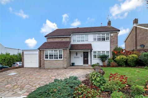 Merry Hill Road, Bushey, Herts, WD23. 4 bedroom detached house for sale