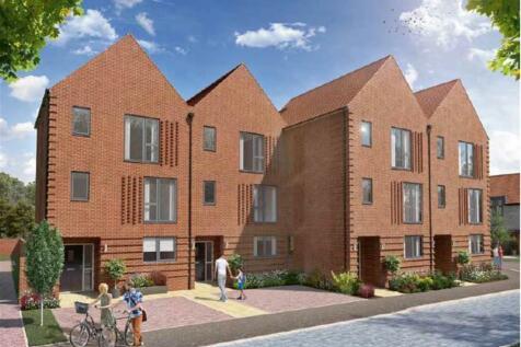Chilmington Gate, Chilmington Green, Ashford. 3 bedroom terraced house
