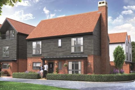 Chilmington Lakes, Great Chart, Ashford. 4 bedroom detached house for sale