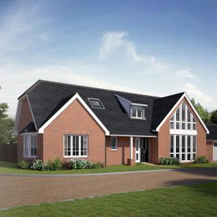 Walshes Road, Crowborough. 4 bedroom chalet