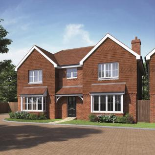 Walshes Road, Crowborough. 4 bedroom detached house